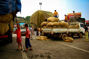 Silk Traders Loading their Trucks - Tracy McCrackin Photography