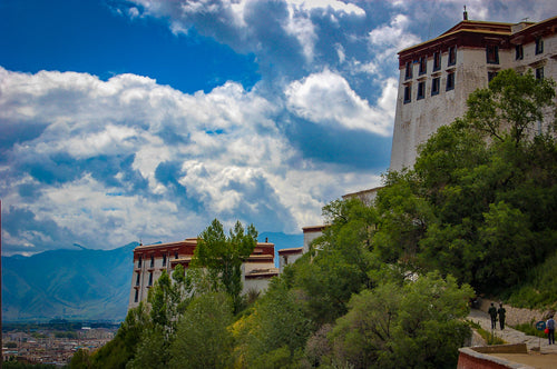 Clear Day At Monastery Portola Palace - Tracy McCrackin Photography