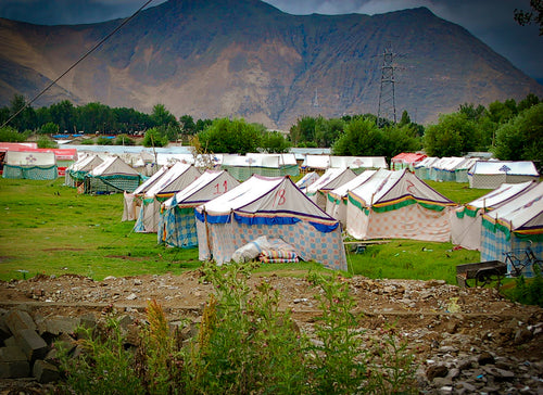 Tibetan Tent Cities - Tracy McCrackin Photography