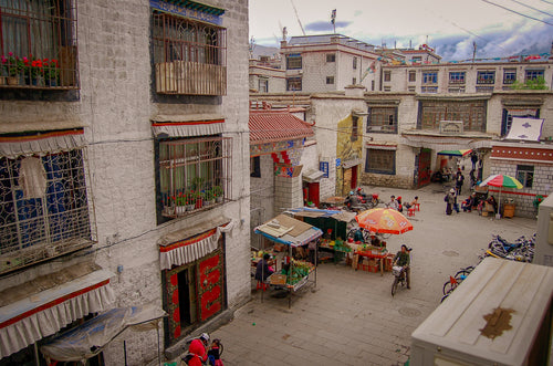Tibetan Courtyard - Tracy McCrackin Photography