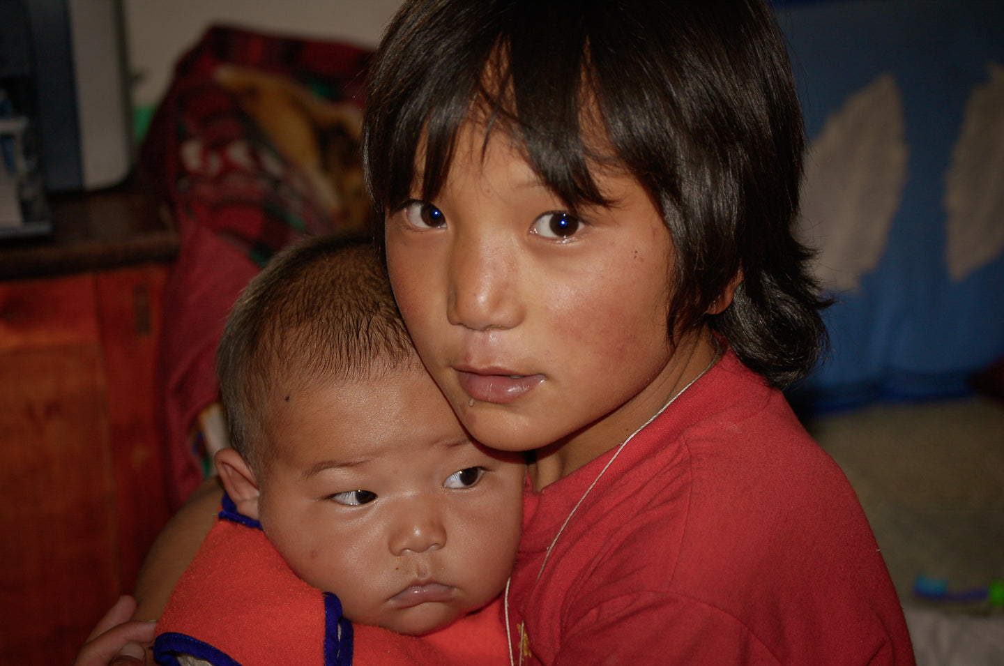 Brother Orphans in Tibet