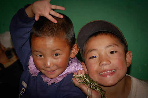 Orphans in Tibet - Tracy McCrackin Photography