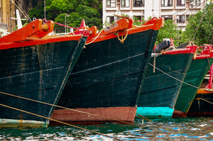 Harbor Boats of Hong Kong - Tracy McCrackin Photography