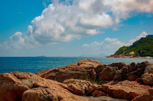 Rolling Clouds Over Hong Kong Islands - Tracy McCrackin Photography