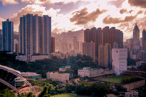 Sunrise in the City of Hong Kong - Tracy McCrackin Photography
