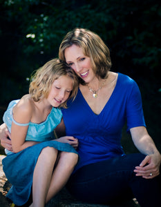 Mother Daughter Hugging Portrait - Tracy McCrackin Photography