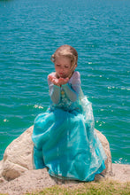 Load image into Gallery viewer, Frozen Princess Blue Dress Water Pond