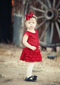Holiday Red Dress - Tracy McCrackin Photography