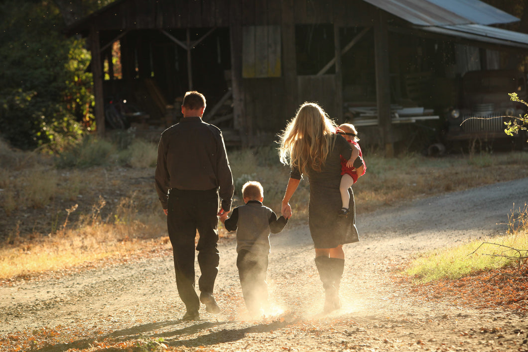 Family at the Farm
