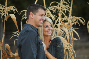 Fall Couple Portraits - Tracy McCrackin Photography