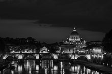 Load image into Gallery viewer, Sunset over the Tiber River in Rome - Tracy McCrackin Photography