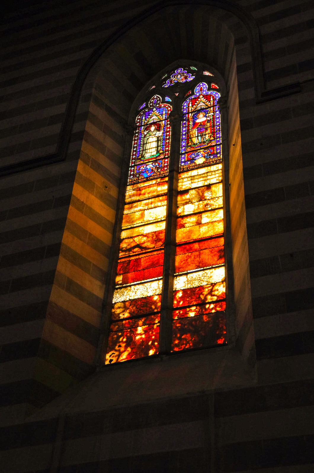 Cathedral Stainglass Window