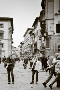 People of Florence - Beautiful Place