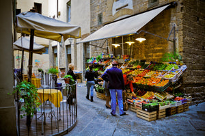 Italian Street Markets - A Beautiful Place To Go - Tracy McCrackin Photography