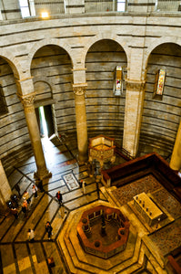 St. John's Baptistery Interior - Tracy McCrackin Photography