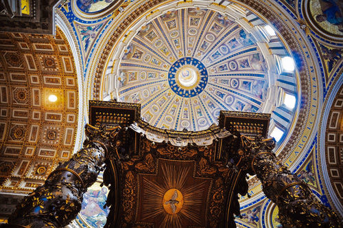 Dome of St. Peter's Basilica, Vatican City - Tracy McCrackin Photography