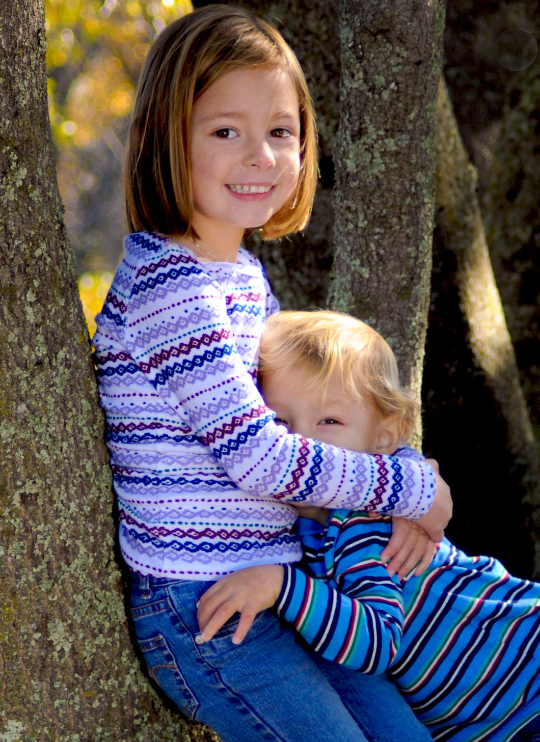 Brother and Sister Fall Portraits