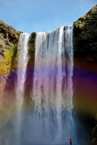 Majestic Skogafoss Rainbows - Tracy McCrackin Photography