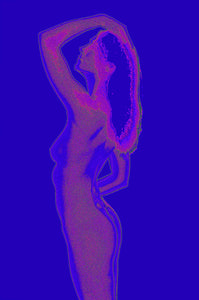 Pop Art Nude Silhouettes