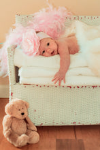 Load image into Gallery viewer, Baby Girl on Bench - Tracy McCrackin Photography