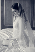 Load image into Gallery viewer, Bourdoir Girl with Veil - Tracy McCrackin Photography