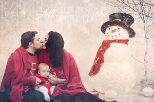 Holiday Santa Portrait - Tracy McCrackin Photography
