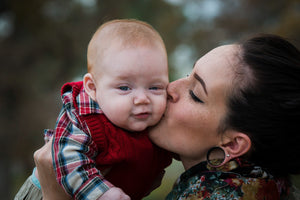 Mother and Baby Boy LOve - Tracy McCrackin Photography