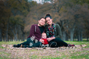Family Portraits During the Fall - Tracy McCrackin Photography