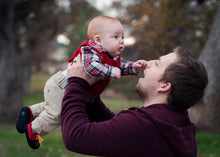 Load image into Gallery viewer, Father and Son at the Park - Tracy McCrackin Photography