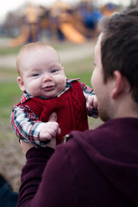 Father and Son at the Park - Tracy McCrackin Photography