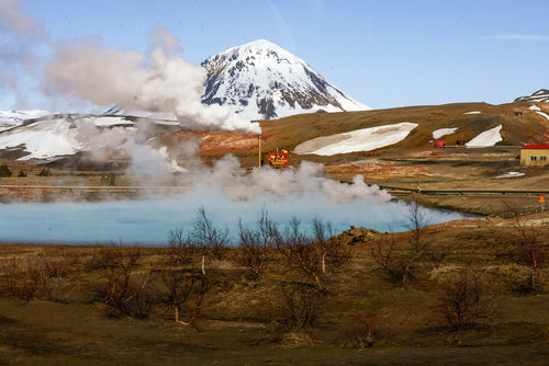 Iceland Valley Steaming Geysers - Tracy McCrackin Photography