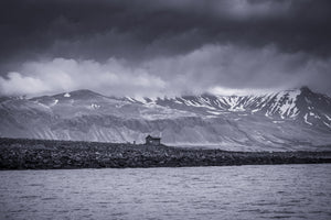 Lonely Ice House in Iceland - Tracy McCrackin Photography