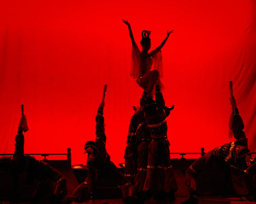 Silhouetted Dancers - Tracy McCrackin Photography