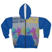 Load image into Gallery viewer, Wicked Lines, Wicked Times Unisex Zip Hoodie - Tracy McCrackin Photography