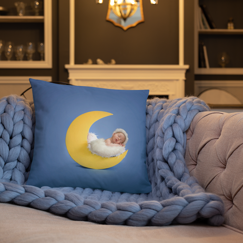 Love You to the Moon and Back Baby Pillows - Tracy McCrackin Photography