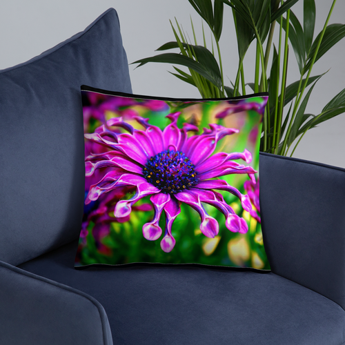 Purple Delight Garden Pillows - Tracy McCrackin Photography