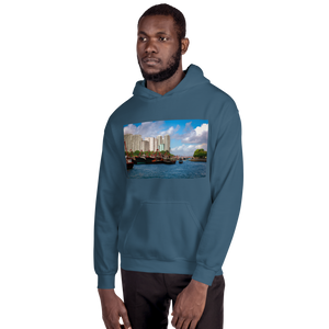 Hong Kong Harbor Unisex Hoodie - Tracy McCrackin Photography