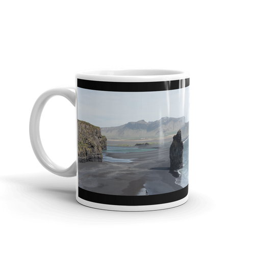 Icelands Black Beach Mug - Tracy McCrackin Photography