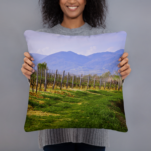 Tuscany Vineyard Escape Pillows - Tracy McCrackin Photography