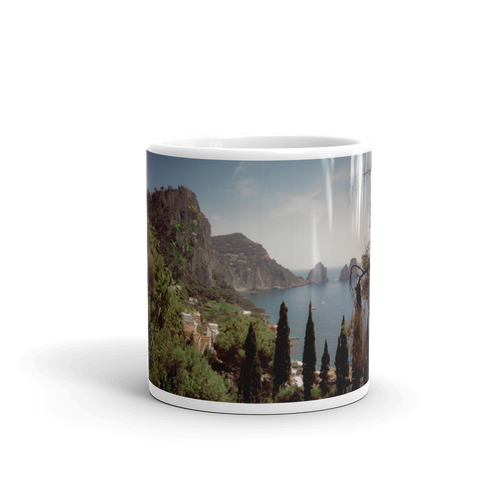 Capri Italy's Famous Beaches Mug - Tracy McCrackin Photography