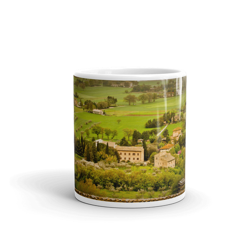Italian Countryside Mug - Tracy McCrackin Photography
