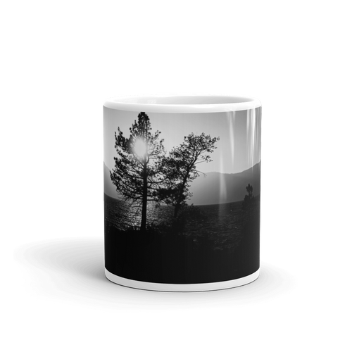 Sunset over the Mountains Mug - Tracy McCrackin Photography