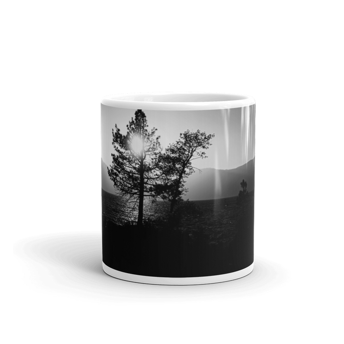 Sunset over the Mountains Mug