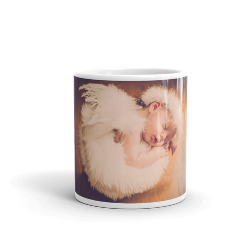Sleeping Angel Mug - Tracy McCrackin Photography
