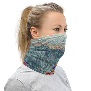Painterly City Scape Face Mask/Neck Gaiter - Tracy McCrackin Photography