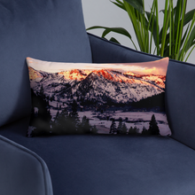 Load image into Gallery viewer, Snowy Retreat Pillows - Tracy McCrackin Photography