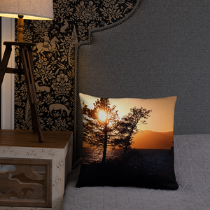 Lake Tahoe Sunset Pillows - Tracy McCrackin Photography