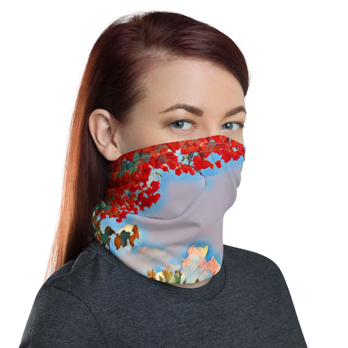 Garden Path Face Mask/Neck Gaiter - Tracy McCrackin Photography
