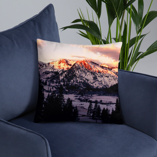 Snowy Retreat Pillows - Tracy McCrackin Photography