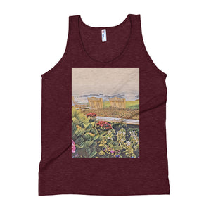 Peaceful Escape Unisex Tank Top - Tracy McCrackin Photography